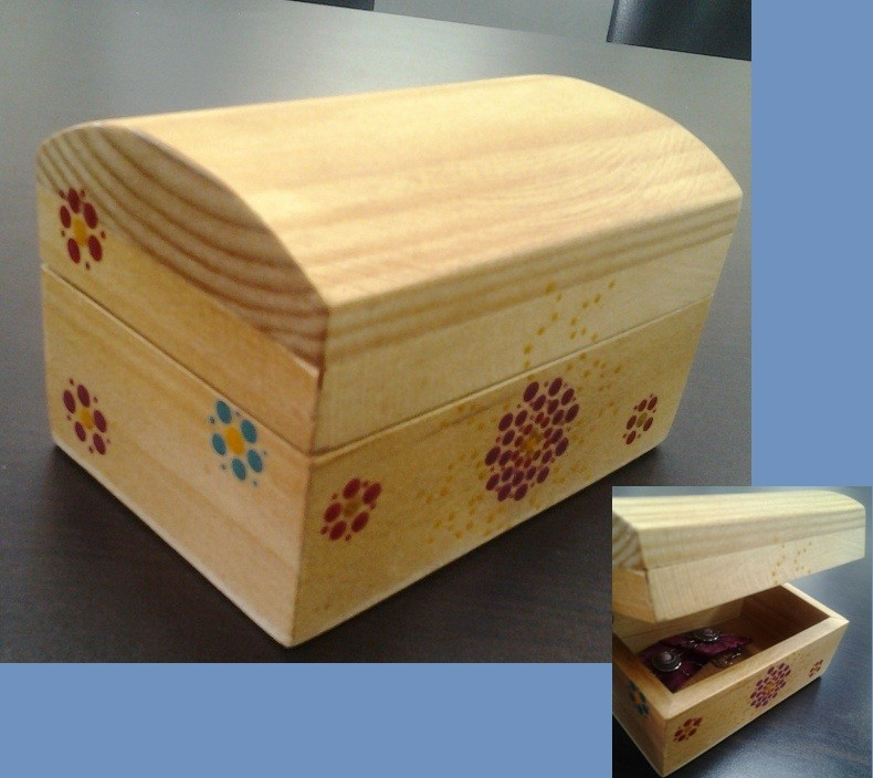 Como decorar un baul latest decorar un baul with como - Como decorar un baul de madera ...